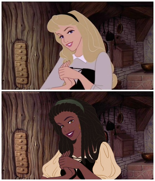 These Disney Princesses Redrawn as Women of Color are Incredible!