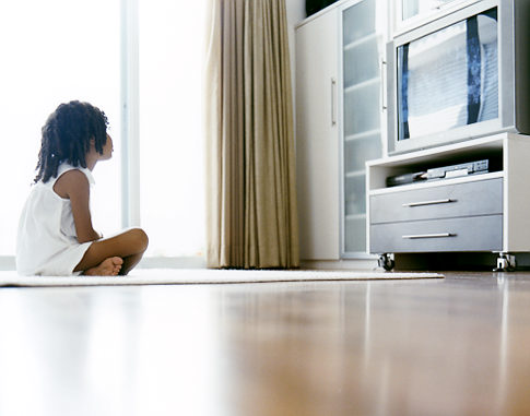 Confession: I Let the TV 'Babysit' My Child