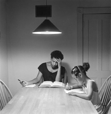 Carrie Mae Weems : The Kitchen Table Series,  1990